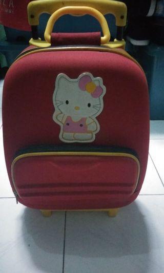 Tas koper anak hello kitty