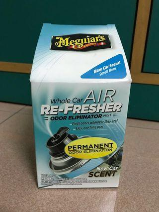 Meguiars Air Refresher for car (new car scent)