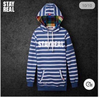 Stayreal帽T(紫標s)