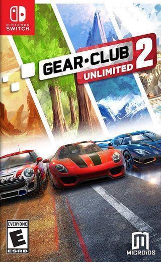 Nintendo Switch Gear Club 2 Unlimited