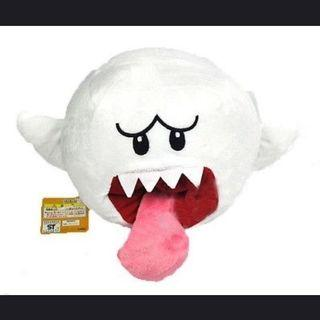 [PO] Super Mario Bros Boo Ghost Stuff Toy Plushie Doll