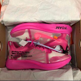 Nike Zoom Off-white Pink