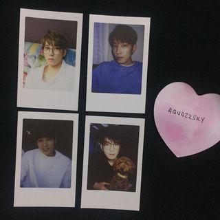 WTT Seventeen Wonwoo Diamond Edge Photocard Polaroid Trading Card