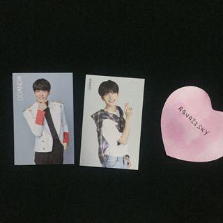 WTT Seventeen Wonwoo Ideal Cut Photocard Trading Card