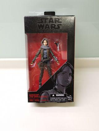 Star Wars Black Series Jyn Erso. Jedha version. Rogue One