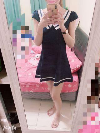 🚚 海軍風洋裝