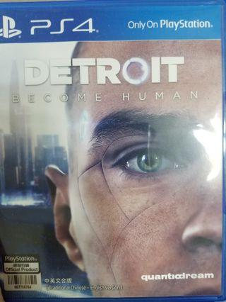 PS4 Detroit : Become Human