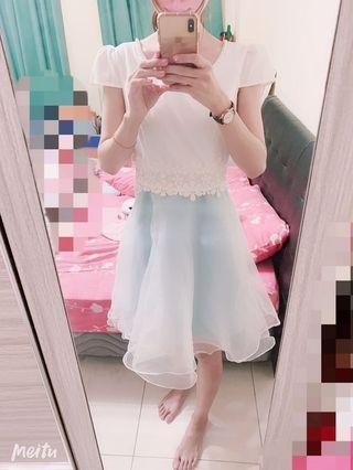 🚚 氣質珍珠領小禮服