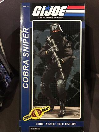 Sideshow Collectibles 1/6 G.I.Joe Cobra Sniper Action Figure