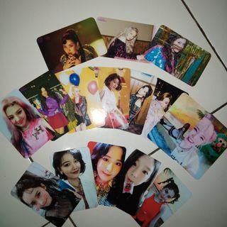 Unofficial Photocard  w/autograph SNSD holiday night