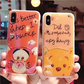 Winnie The Pooh & 跳跳虎 iPhone Case