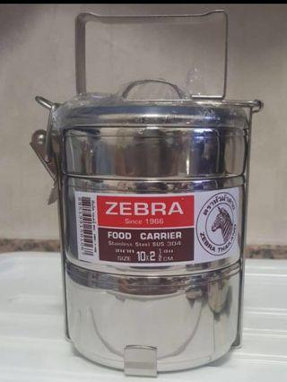 Zebra Stainless Steel Food 3 Tier Container