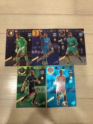FIFA 365 cards