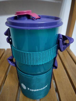Tupperware 30oz tumbler with carrier