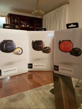 🎉 Bose Free Wireless soundsport