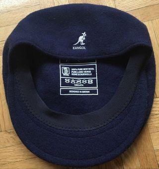 Navy blue kangol cap/hat