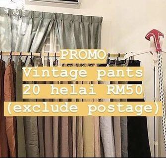 VINTAGE PANTS 20PCS RM50