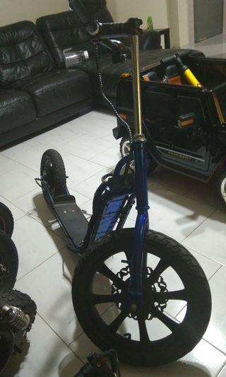 New built 1612 scooter