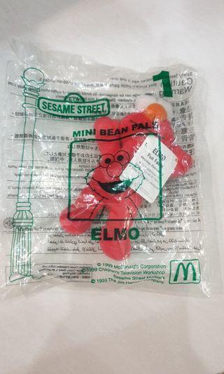 🚚 McDonald's Happy Meal Toy Elmo 1999