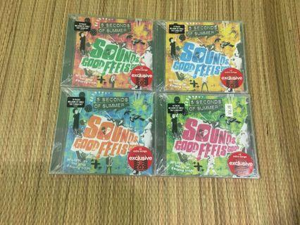 5sos CD set sounds good feels good target edition