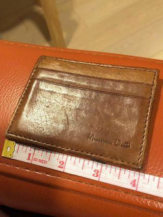西班牙牌子真皮Massimo Dutti card holder 男女裝卡片套Genuine leather