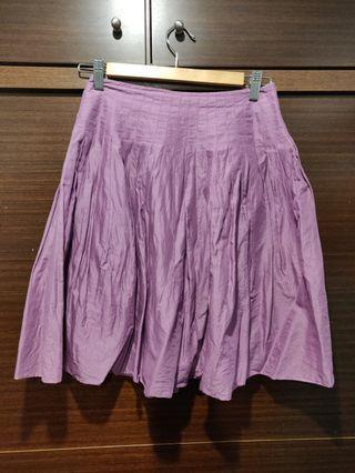 Club Monaco 馬卡龍紫色短裙 上班 約會皆適用