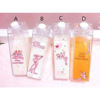 PINK PANTHER CLEAR BOTTLE