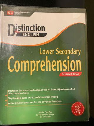 🚚 Distinction in English - lower secondary Comprehension