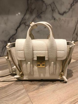 3.1 Phillip Lim Pashli Mini Satchel 珍珠白 金扣 White Peach GHW