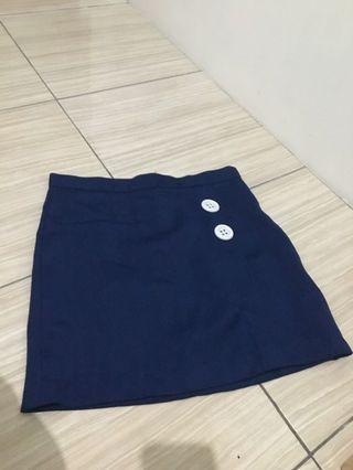 Rok navy / rok biru/ blue skirt/ rok mini