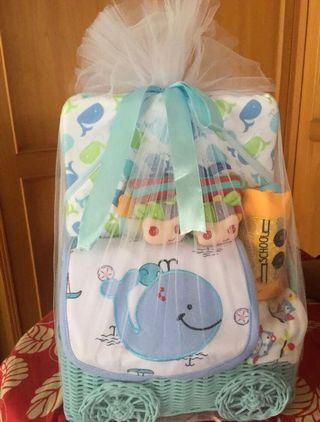 Baby gift set (newborn hampers) for baby boy
