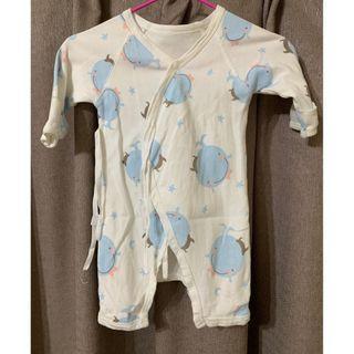 🚚 新生兒 肚衣 紗布衣 蝴蝶衣 連身裝 上衣 衣服 爬服 嬰幼兒 童裝