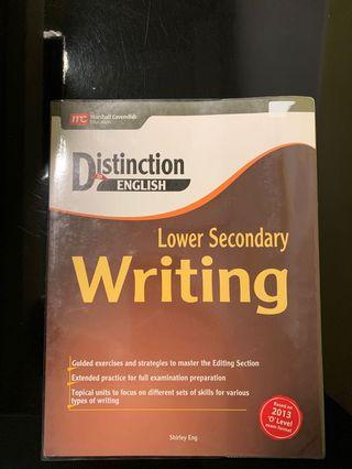 Distinction in English - Lower secondary Writing