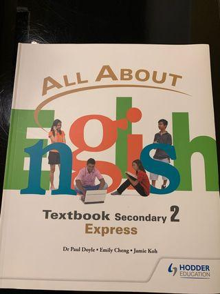 🚚 All About English textbook Secondary 2 express