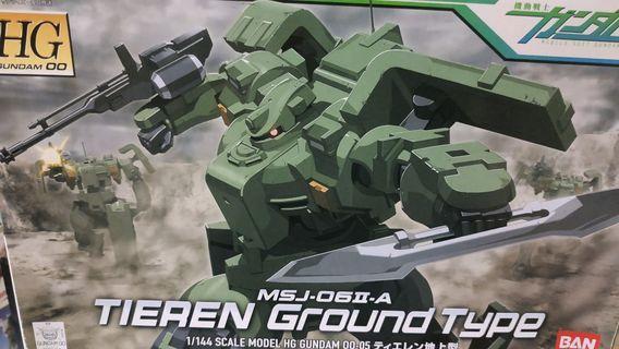 HG tieren ground type gundam