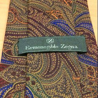 Ermenegildo Zegna Neck Tie - 100% Silk - Made in Italy