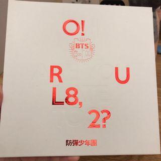 #bts o! R u l8,2? 專輯+海報
