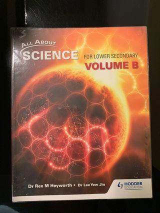 🚚 All About Science for lower secondary Volume B