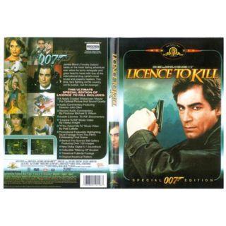 007 License to kill DVD