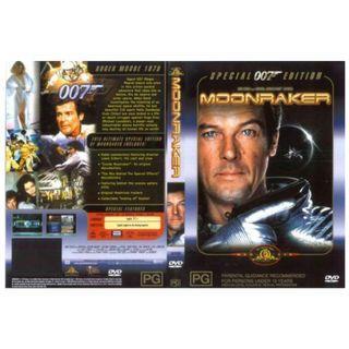 007 Moonraker DVD