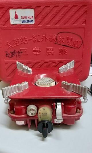紅外線單口瓦斯爐