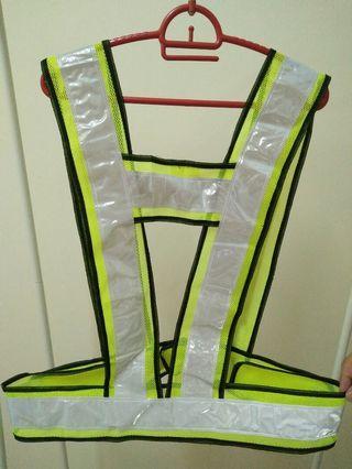 2 Reflective Safety Vest (Yellow & Orange colors)