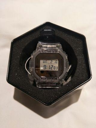 Authentic Casio G-Shock Clear skeleton series (new model)