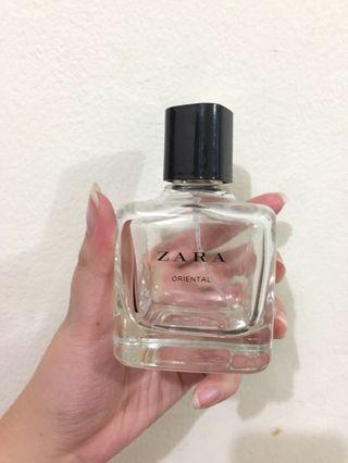 Botol Kosong parfum zara - oriental