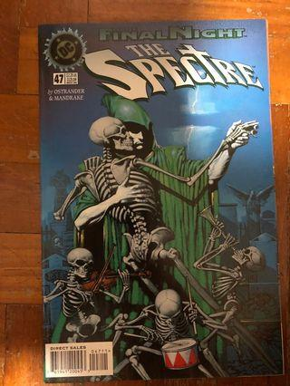 The final night the spectre #47 nov 1996