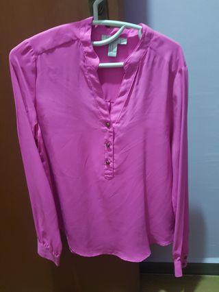 Forever 21 bright pink top