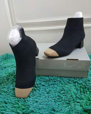 Stretch Sock Angkle Boots