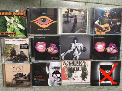英文CD rock (Mogwai, Dr House, Linkin Park, the 1975, Travis, Stereophonics)