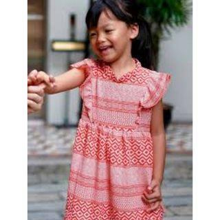 The Missing Piece Tribal Dress For Kids 6-7