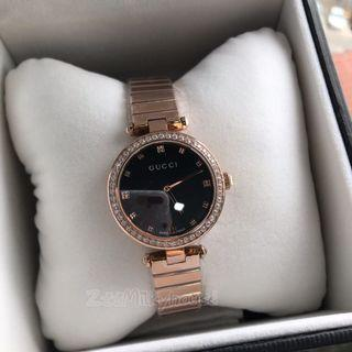 343bac1aa83 GUCCI Ladies Classic rose gold watch